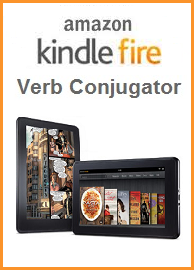 Kindle Fire Verb Conjugator