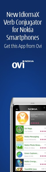 Get New Verb Conjugator for Nokia Smartphones from OVI Store!