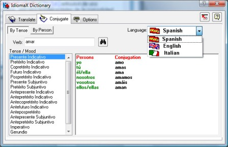 IdiomaX Spanish-Italian Dictionary 6.00 full